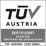 ISO 9001 TÜV AUSTRIA